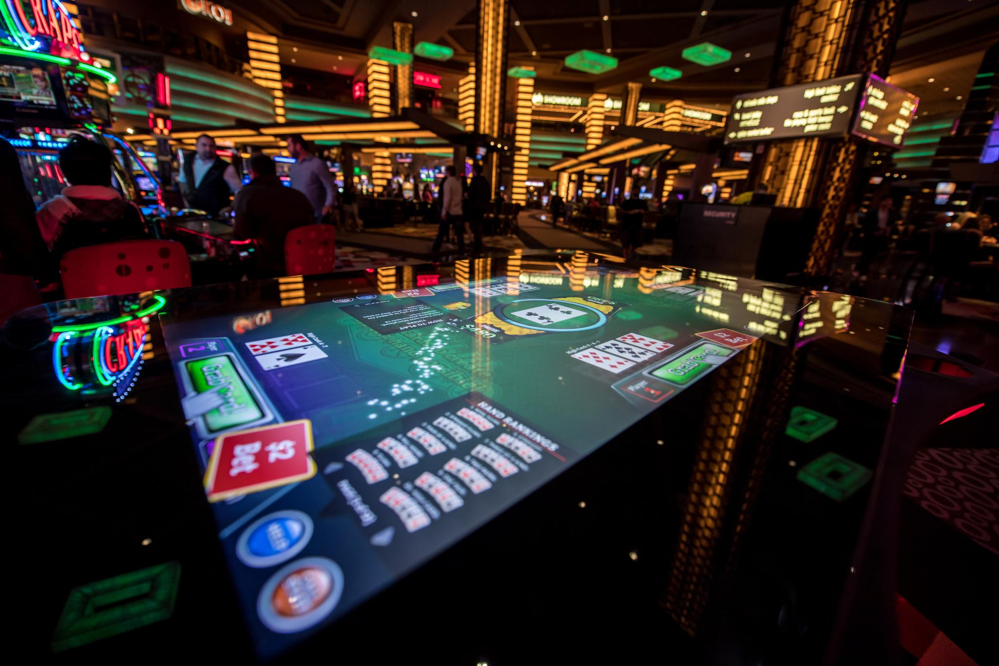 skill-based gaming Las Vegas slot machines