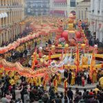 Year of the Pig Off to a Golden Start for Macau Casinos as Chinese Revelers Flock to Enclave
