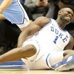 Duke Odds Lengthen Following Zion Williamson Injury, Return Questionable