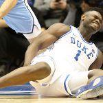 Duke Odds Lengthen Following Zion Williamson Injury, Return Questionable