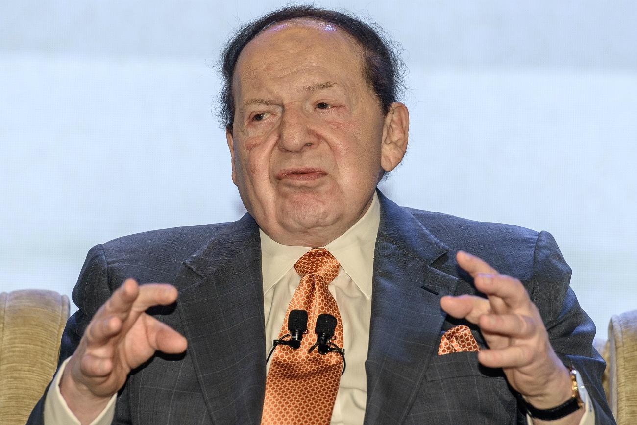 Las Vegas Sands Sheldon Adelson cancer