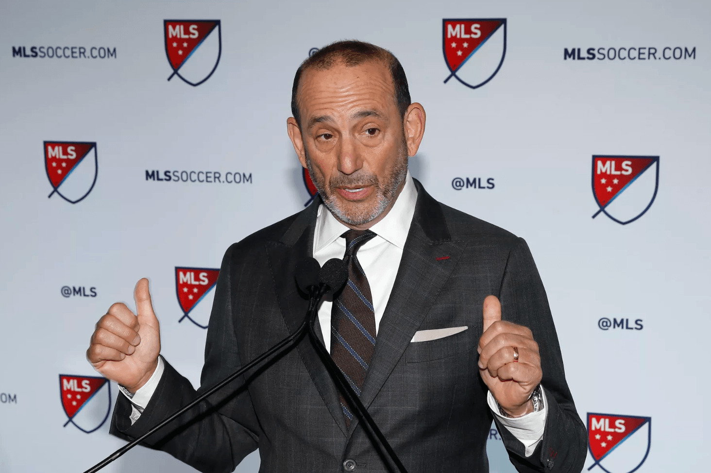 MLS Don Garber soccer odds sports betting