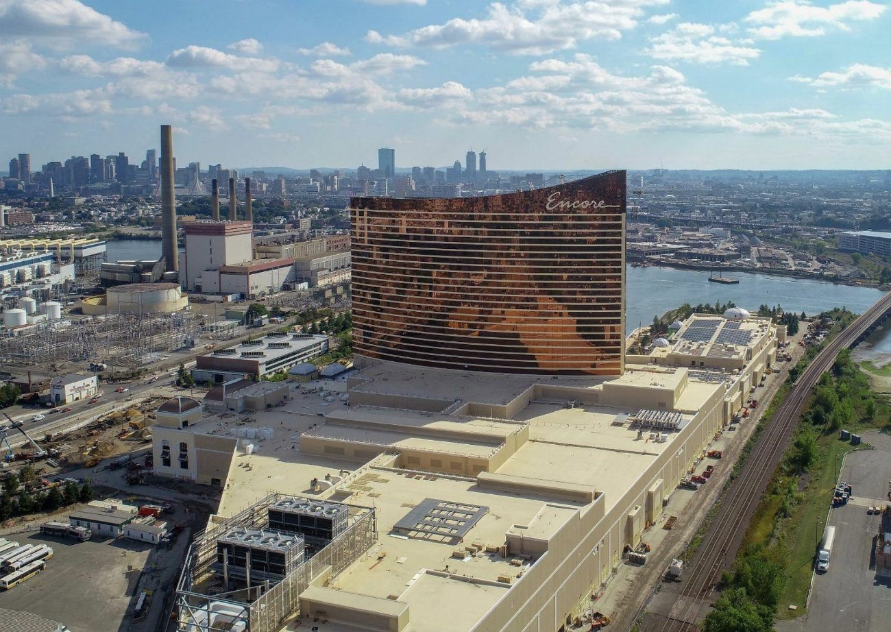 Suffolk Downs Encore Boston Wynn Resorts