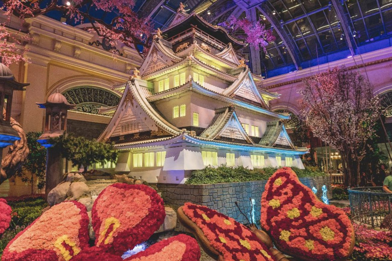 Bellagio Conservatory MGM Resorts Japan