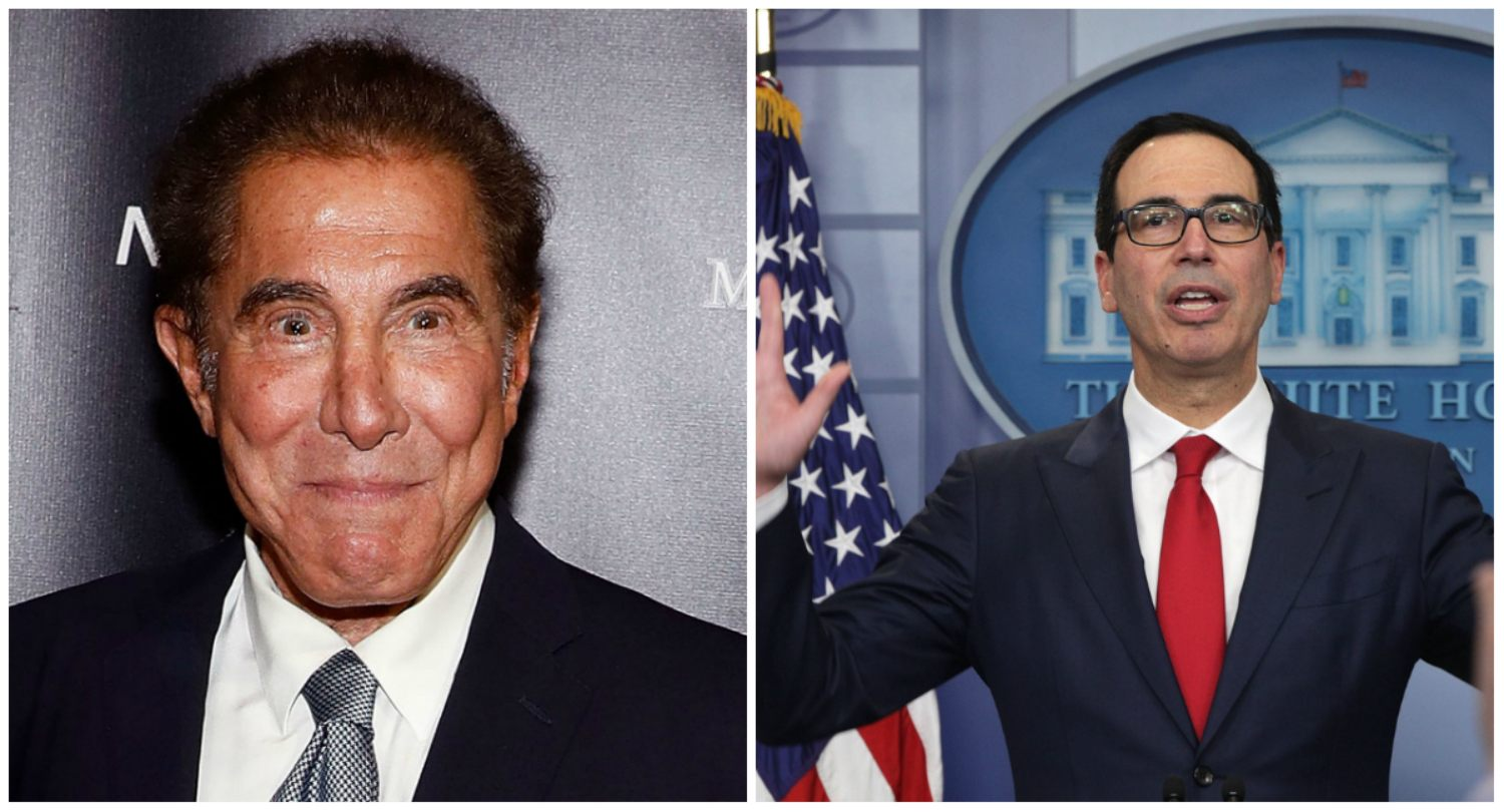 Steve Wynn Steven Mnuchin Encore Boston