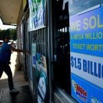Mega Millions jackpot lottery ticket