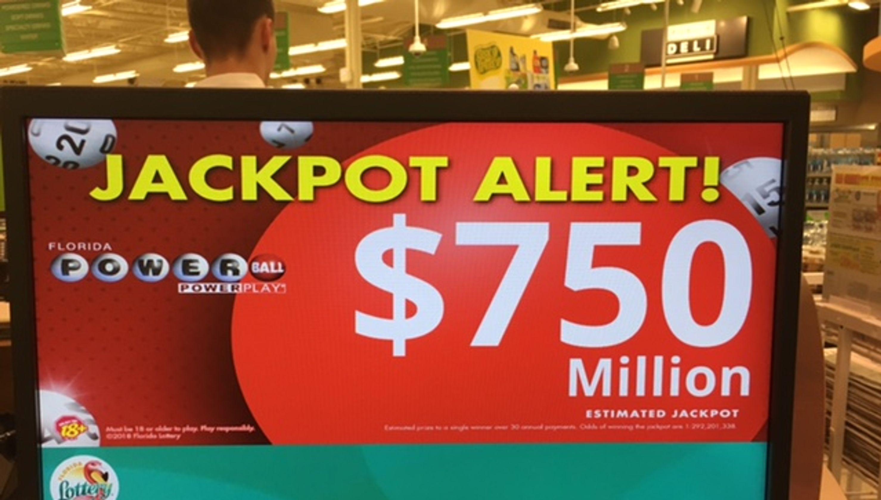 Powerball jackpot lottery odds Mega Millions