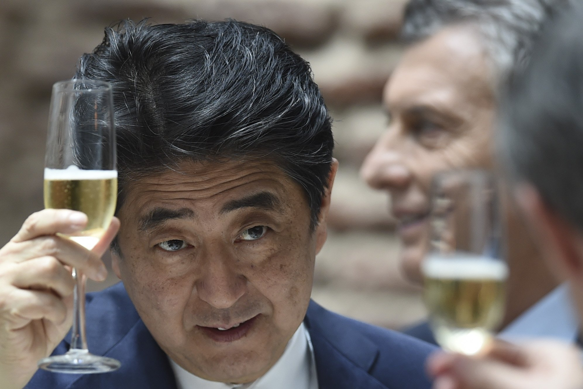 Japan casino Shinzo Abe IR bill