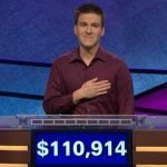 Sports Bettor James Holzhauer Breaks 'Jeopardy!' Single-Day Record, Pro Gambler Wins $110,914