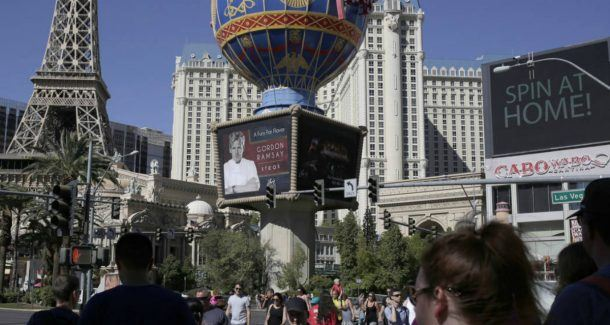 Las Vegas visitor profiles casino revenue