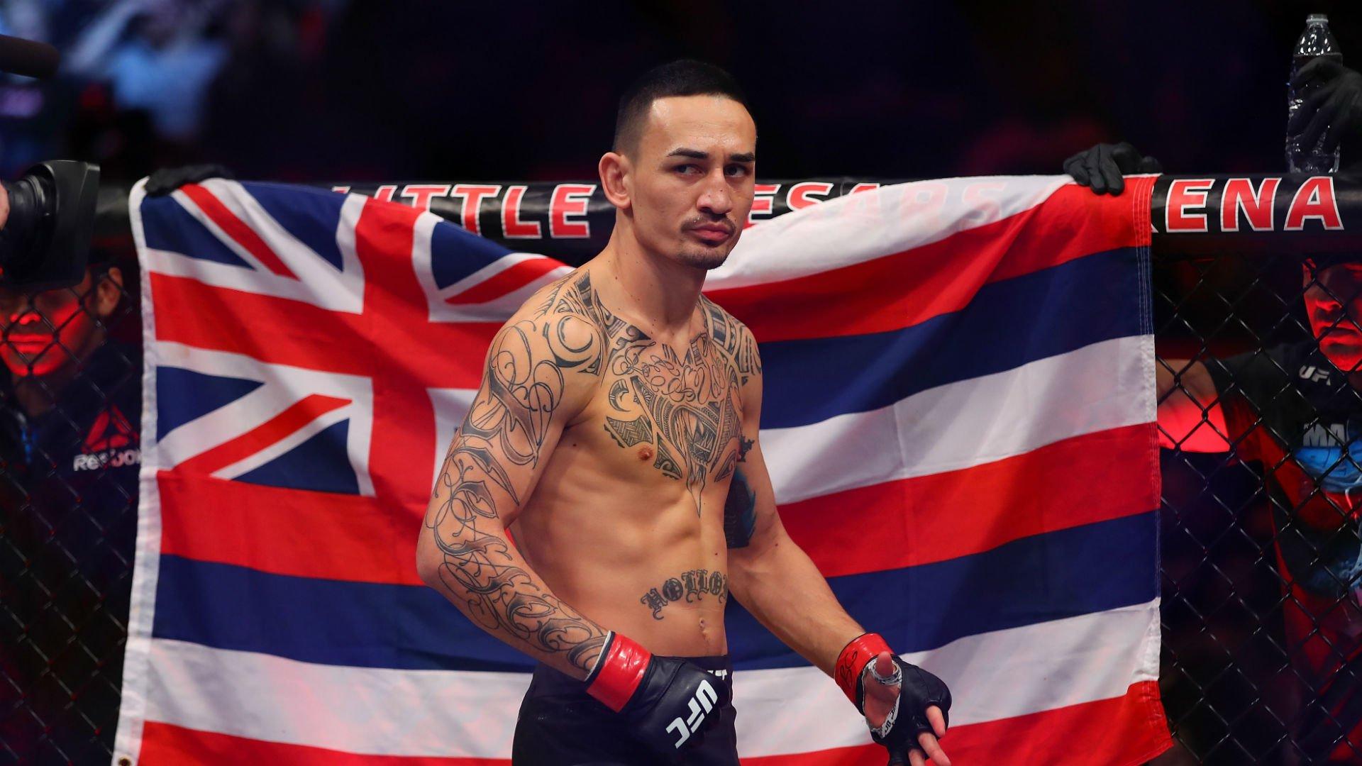 UFC 236 Holloway Poirier