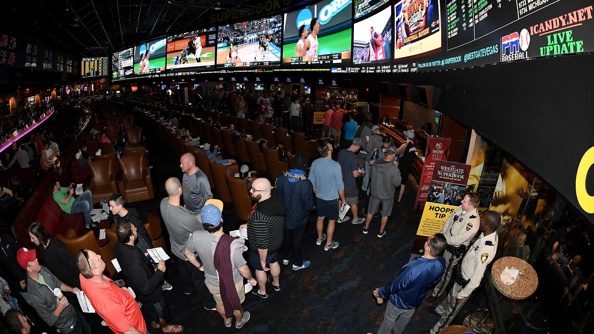 Las Vegas Strip revenue sports betting