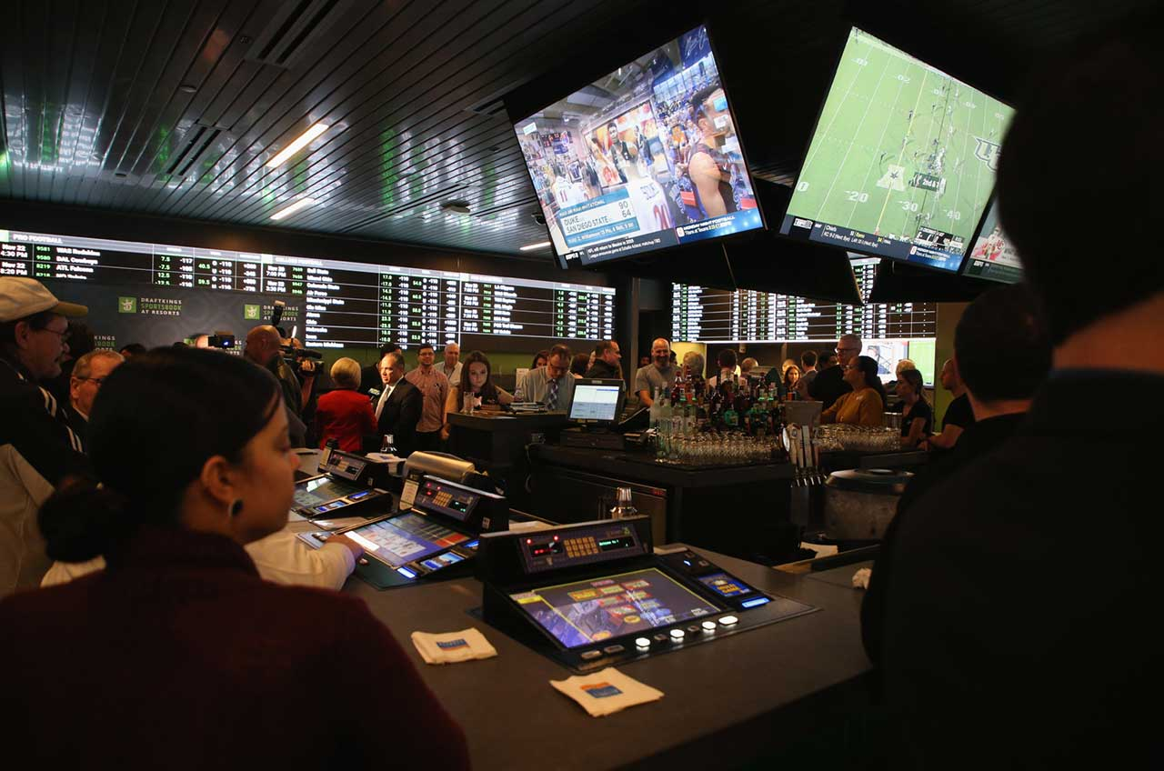sports betting tax revenue Las Vegas odds
