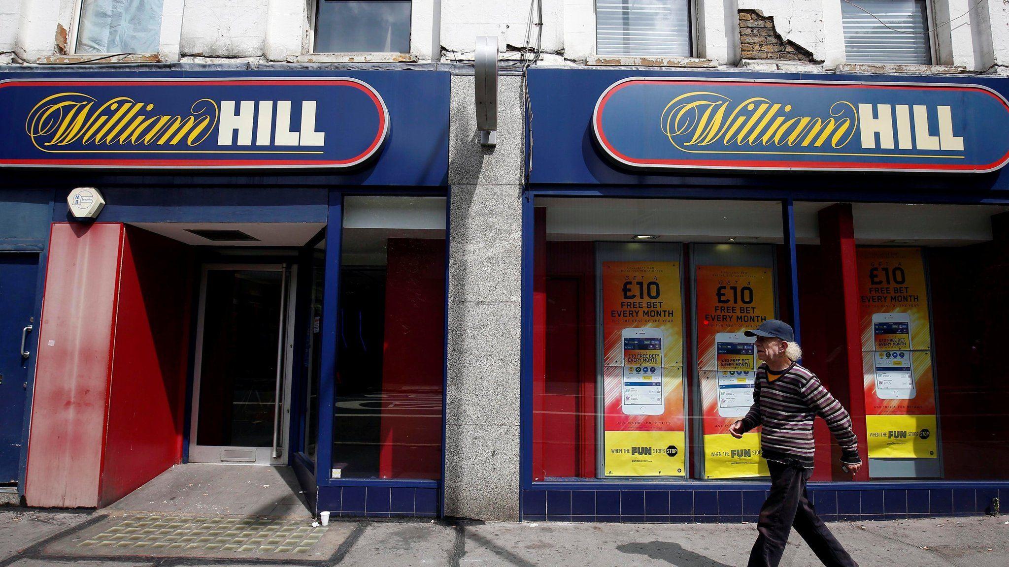 William Hill sports betting revenue