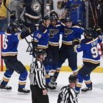 Blues Set to Face Bruins for Stanley Cup; St. Louis Bettor Four Wins Away from $100K