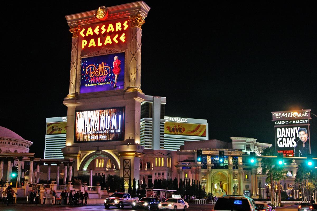 Caesars Entertainment Las Vegas casino hotel
