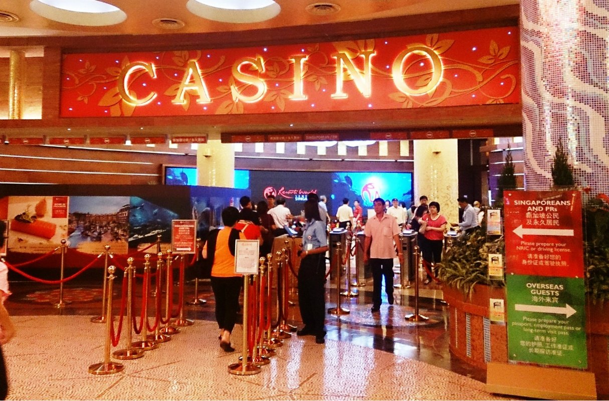 Singapore casinos Marina Bay Sands Resorts