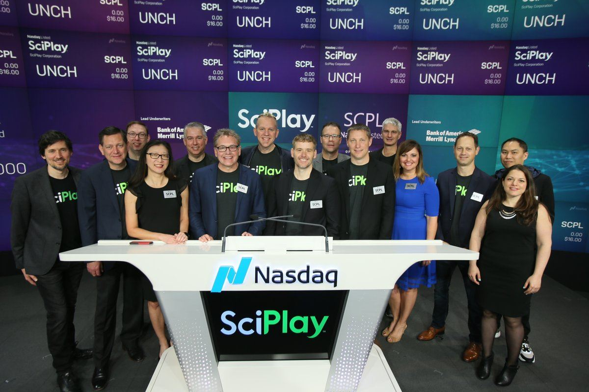 SciPlay stock IPO NASDAQ