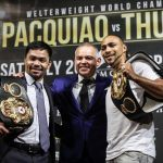 Oddsmakers Make Pacquiao an Underdog Against Thurman in July Title Bout