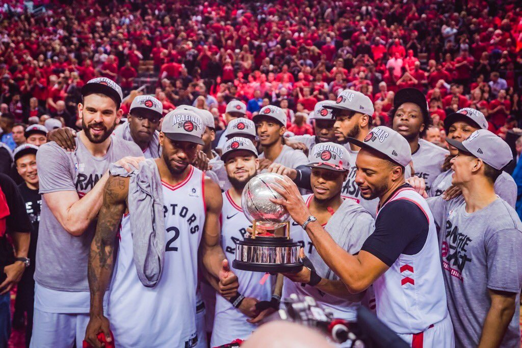 Raptors Rally to Secure First Appearance in NBA Finals ...