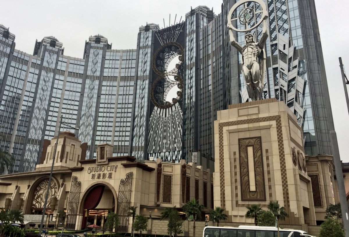Melco Resorts stock revenue Macau casino