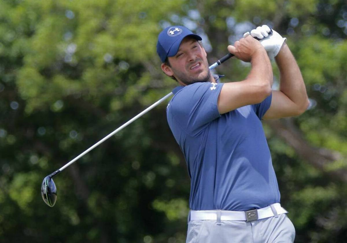 golf odds Tony Romo PGA Tour