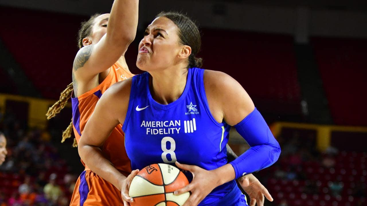 WNBA 2019 Aces Mystics