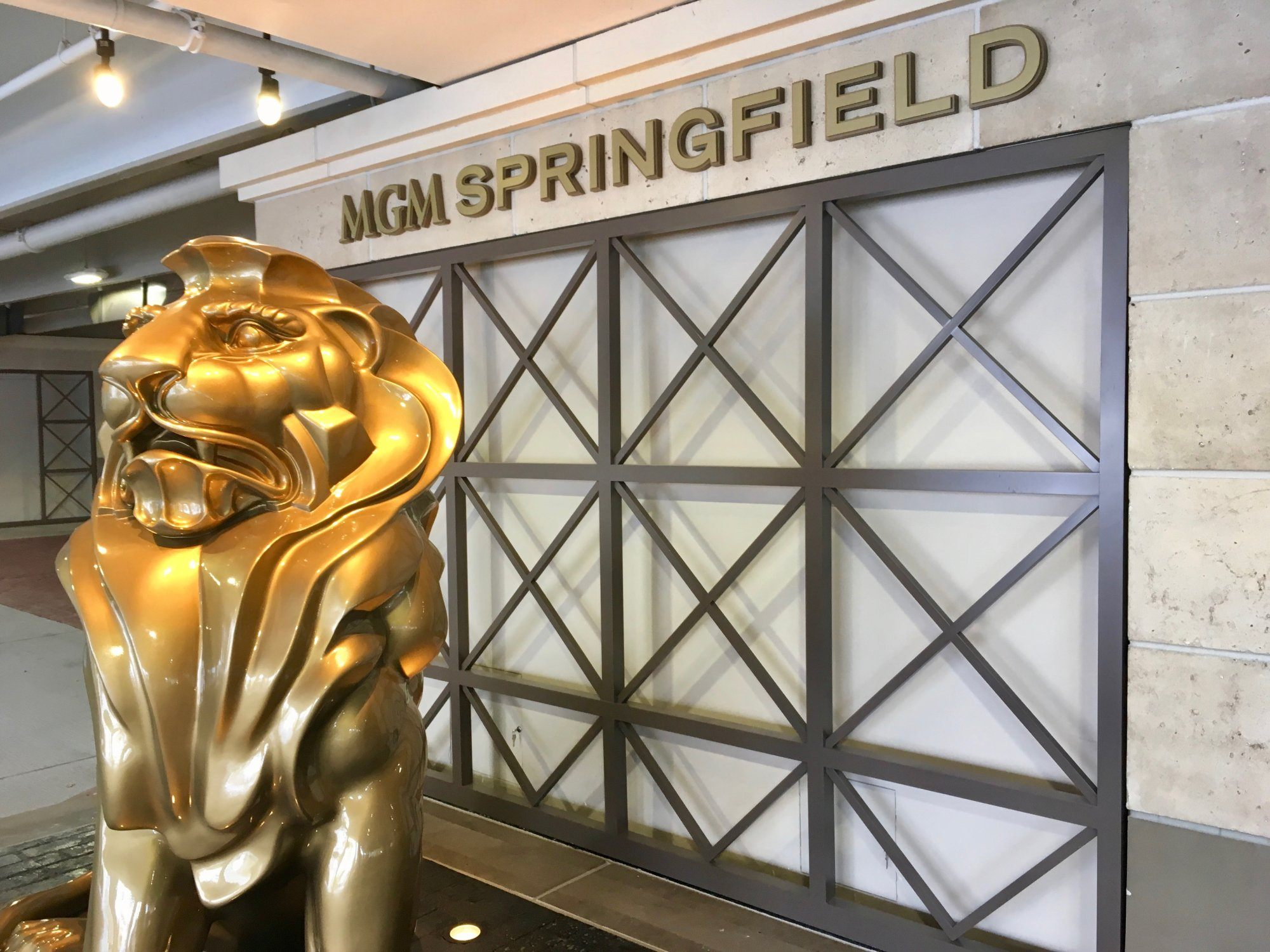 MGM Springfield casino revenue