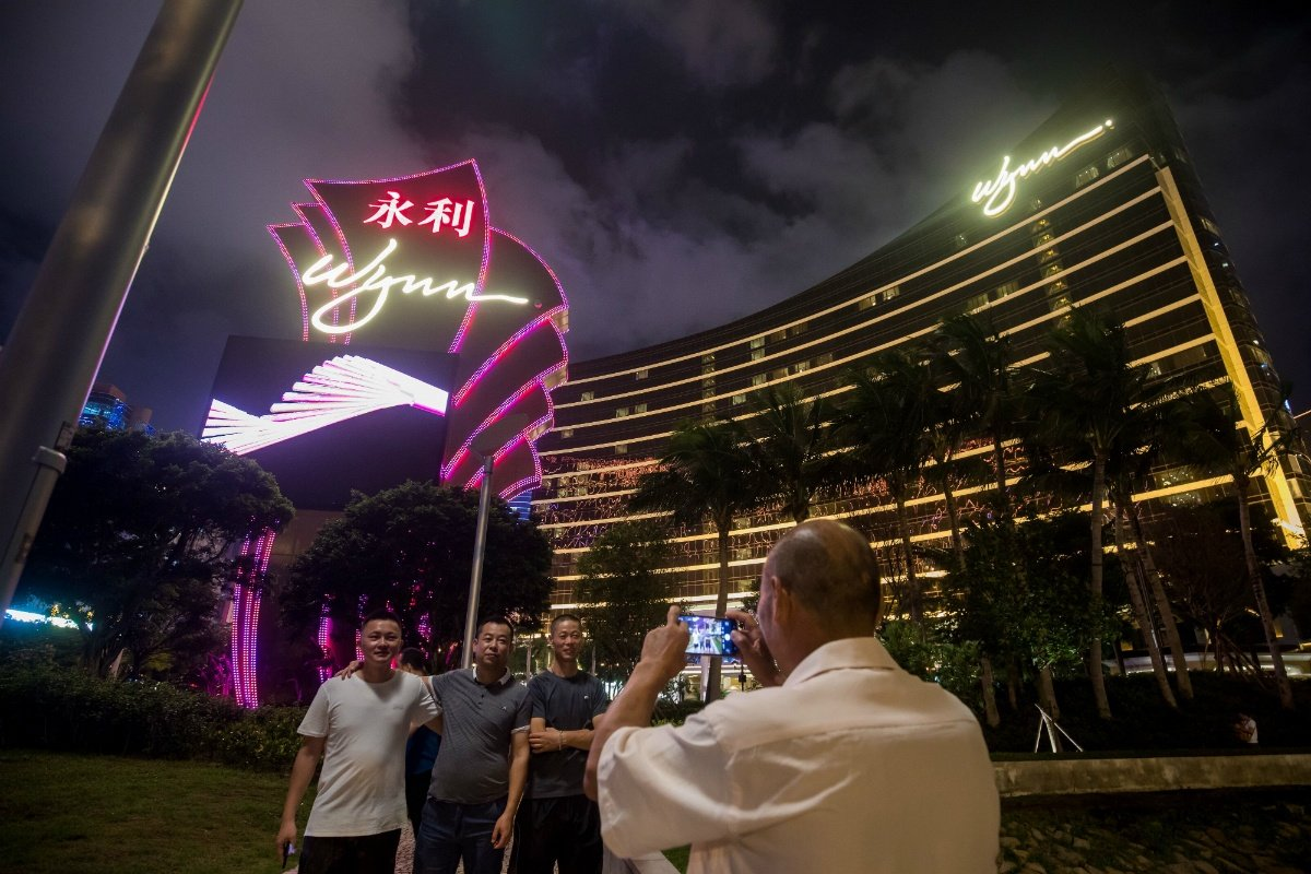 casino revenue Macau GGR