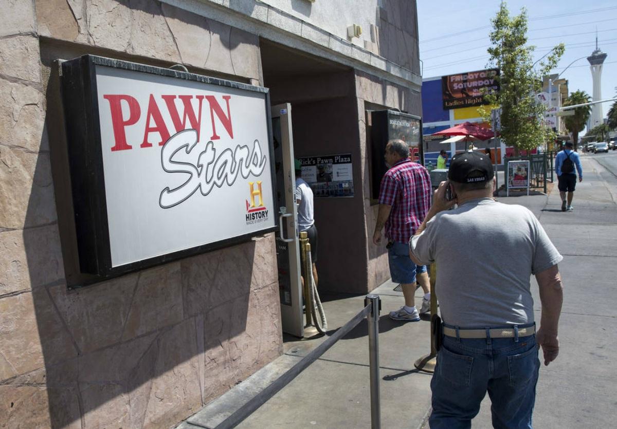 """Pawn Stars"" History Las Vegas reality show"