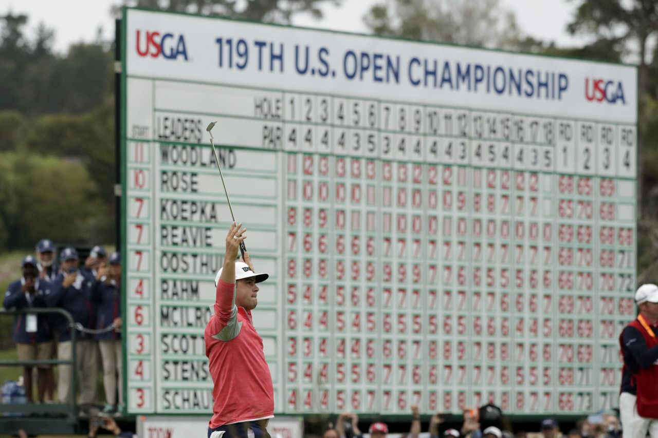 Gary Woodland US Open golf odds