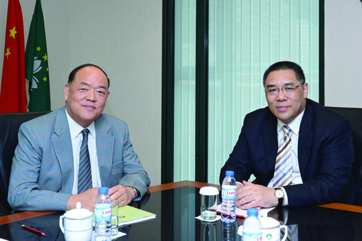Macau chief executive casino gaming