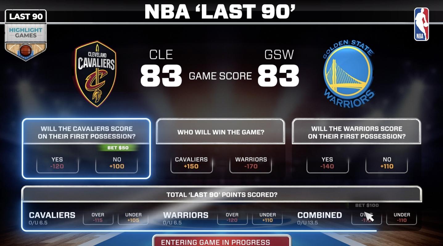 NBA sports betting basketball odds