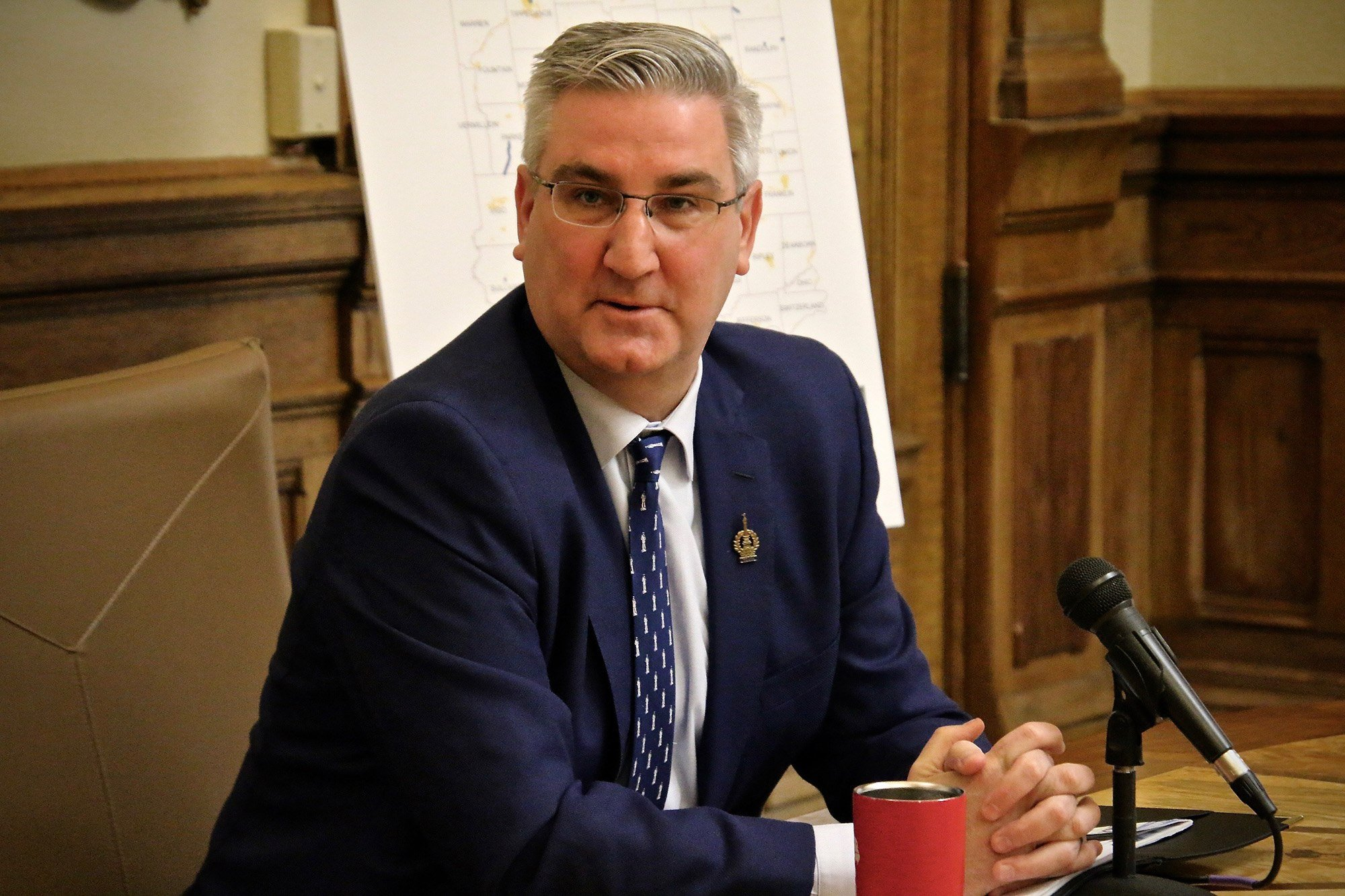 Indiana Eric Holcomb Chicago casino