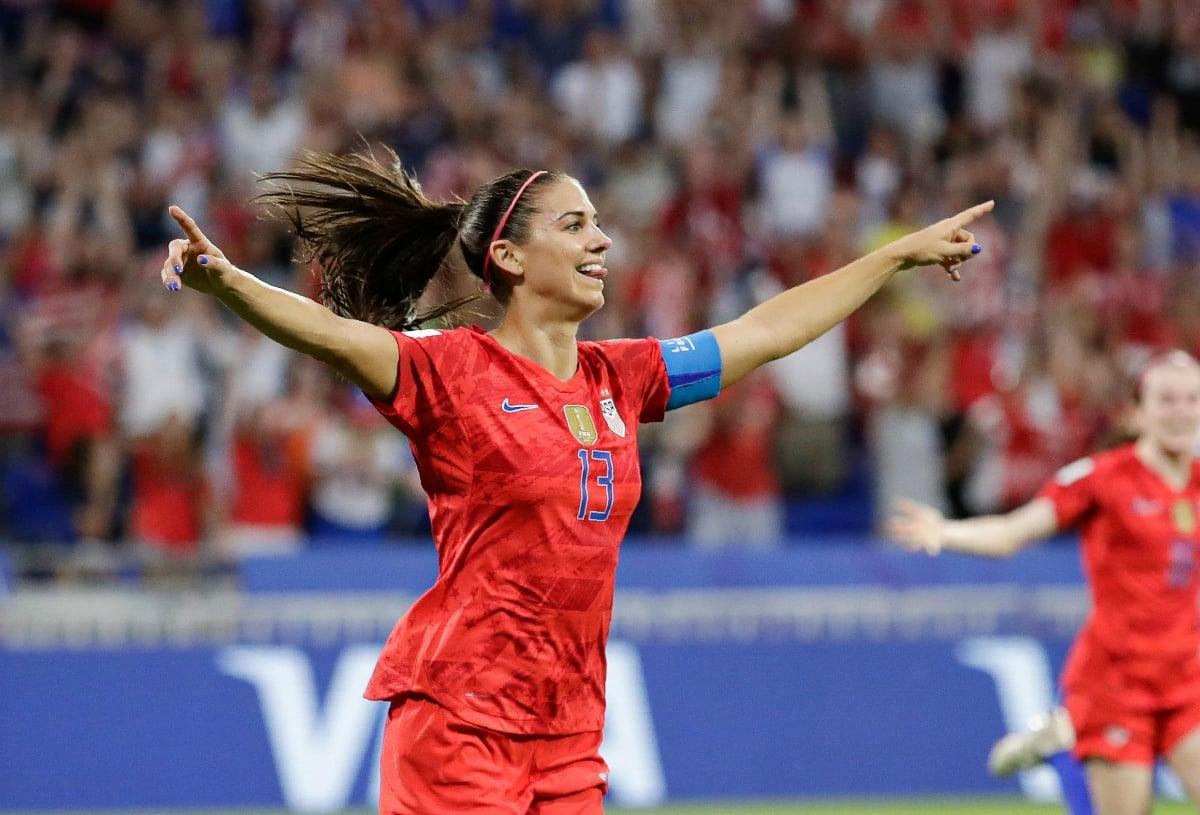 World Cup odds USA soccer Alex Morgan