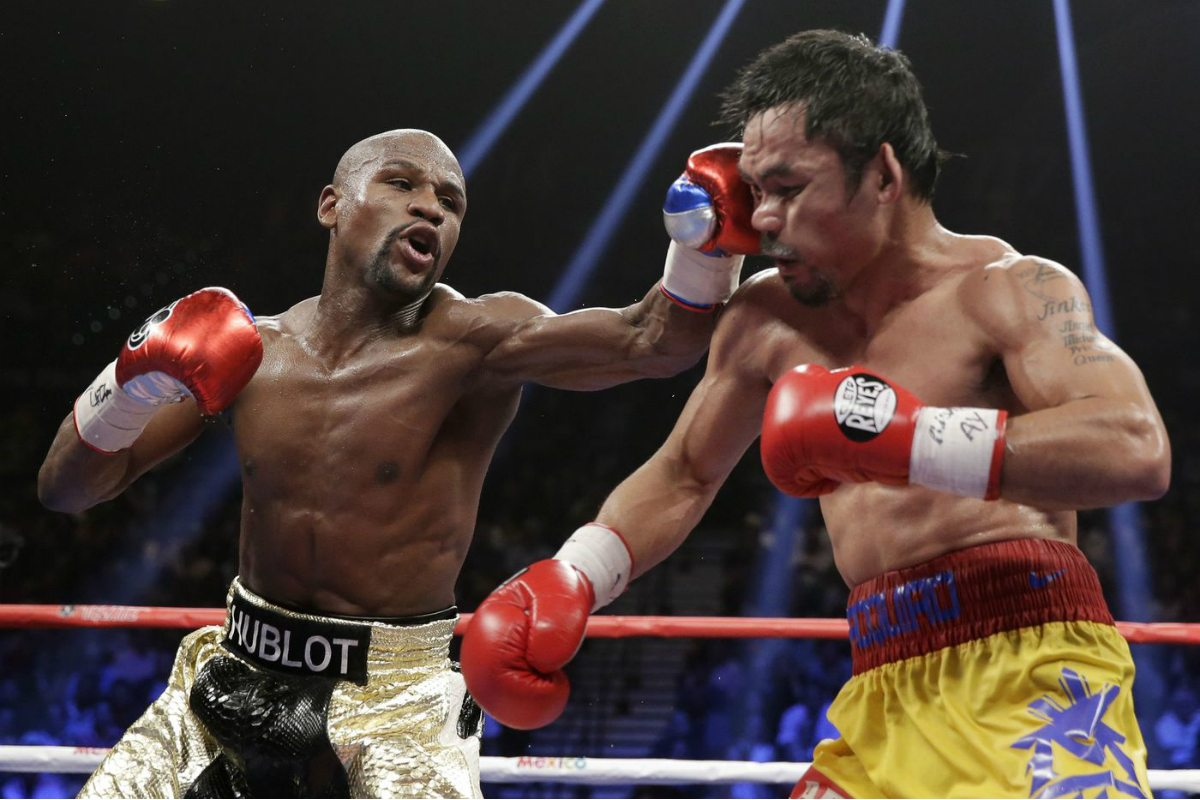 Floyd Mayweather Manny Pacquiao odds