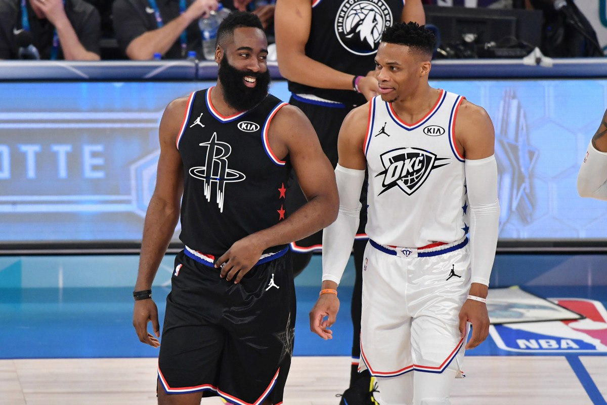 Houston Rockets NBA odds Russell Westbrook