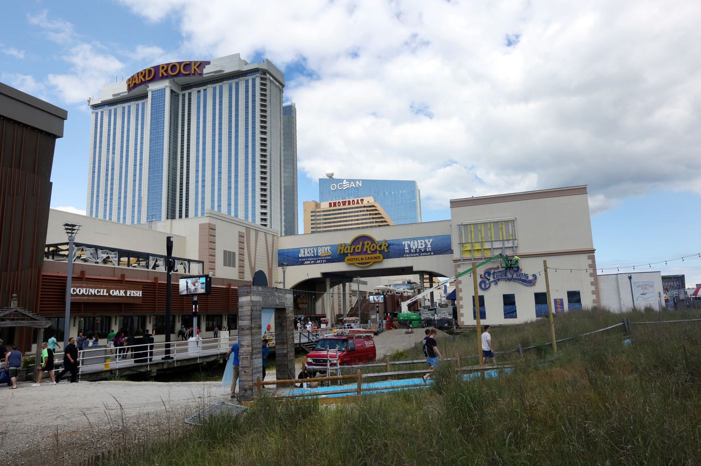 Atlantic City casinos GGR
