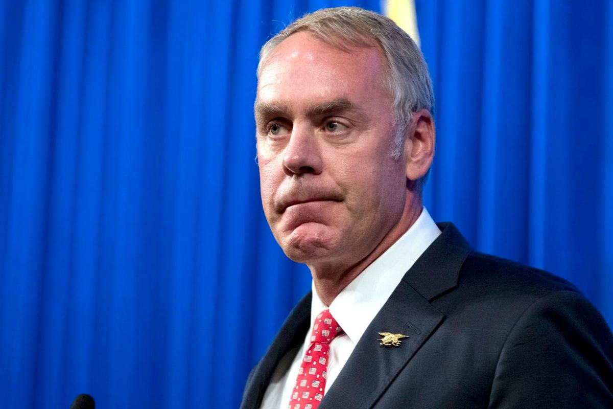 Ryan Zinke DOI tribal casino