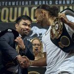 Manny Pacquiao Enters Welterweight Title Fight as Slight Favorite Over Keith Thurman