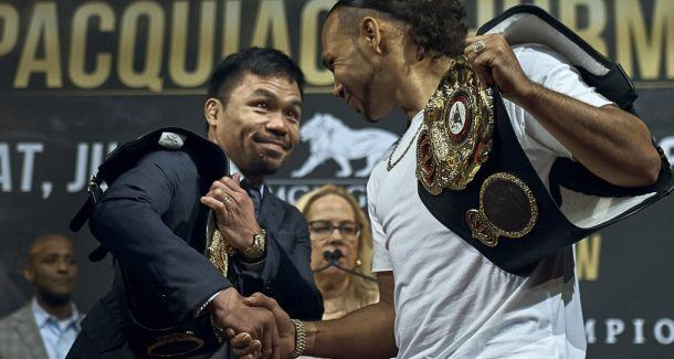 Manny Pacquiao Keith Thurman