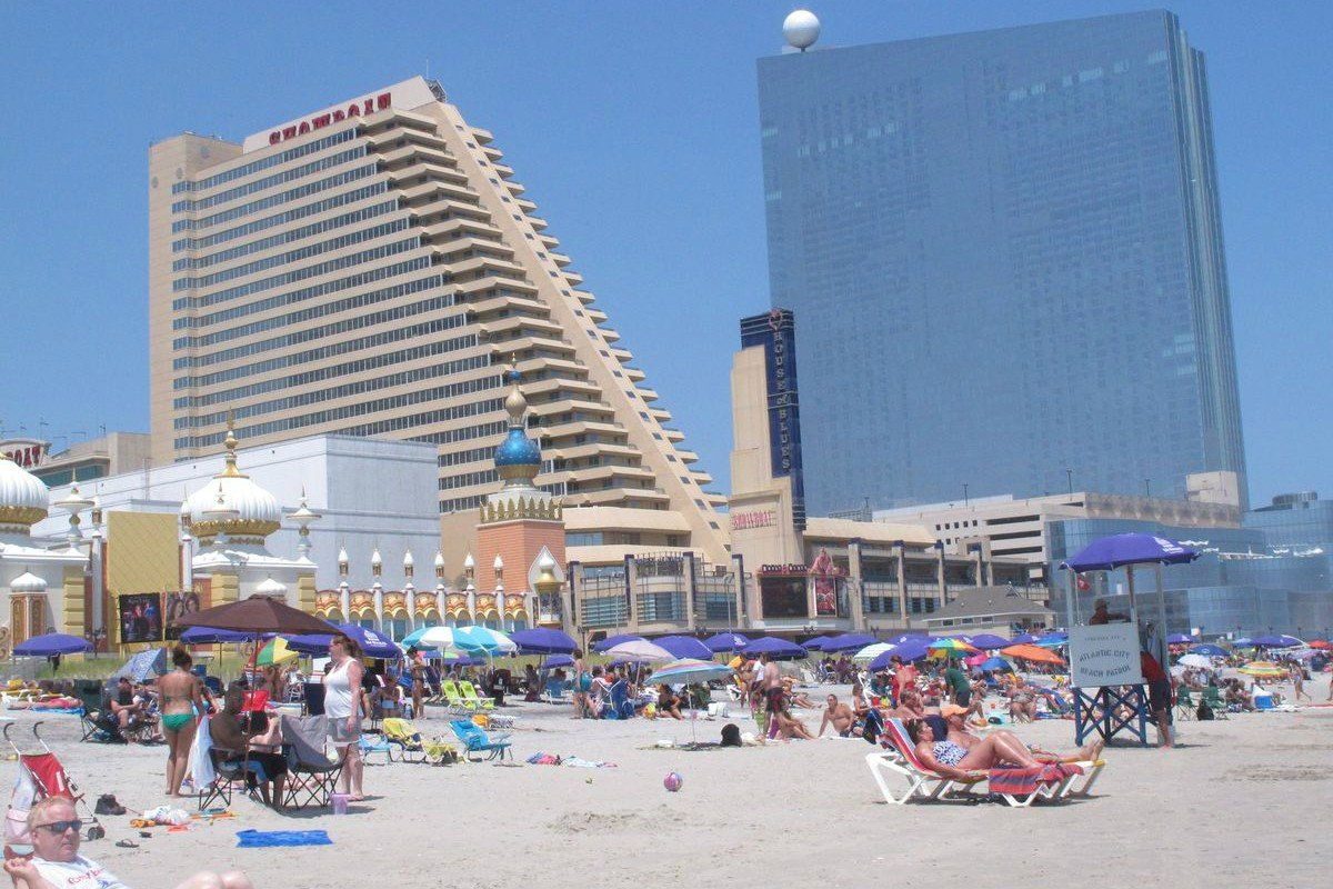 Atlantic City casino Showboat hotel