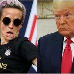 Megan Rapinoe 2020 odds Trump