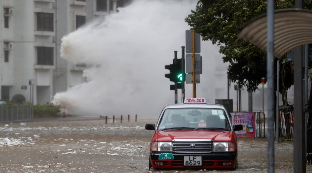 Macau Typhoon