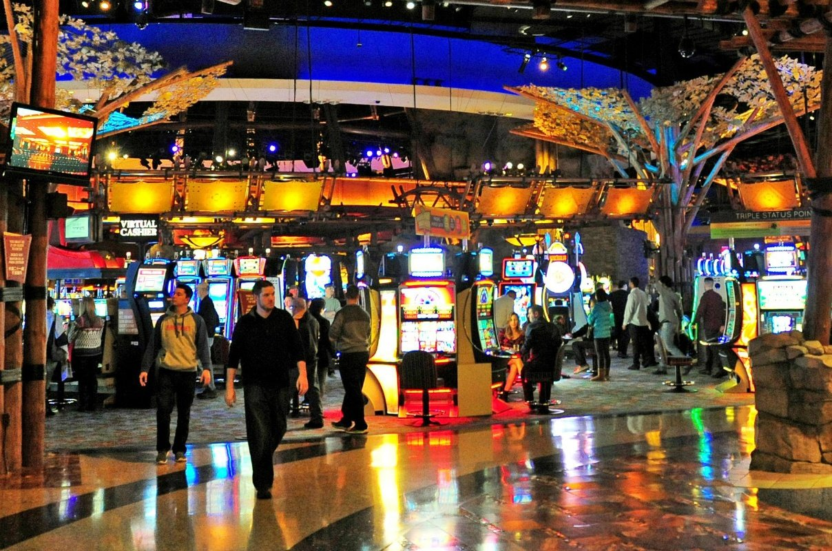 Connecticut casinos slot revenue GGR
