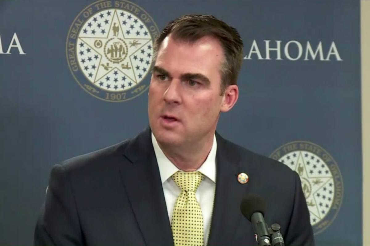 Oklahoma tribes casino tax Kevin Stitt