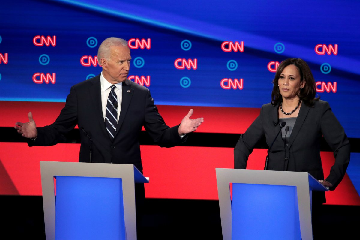 Joe Biden 2020 odds Democratic debate