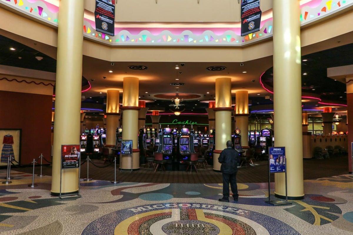 Miami casino theft Miccosukee