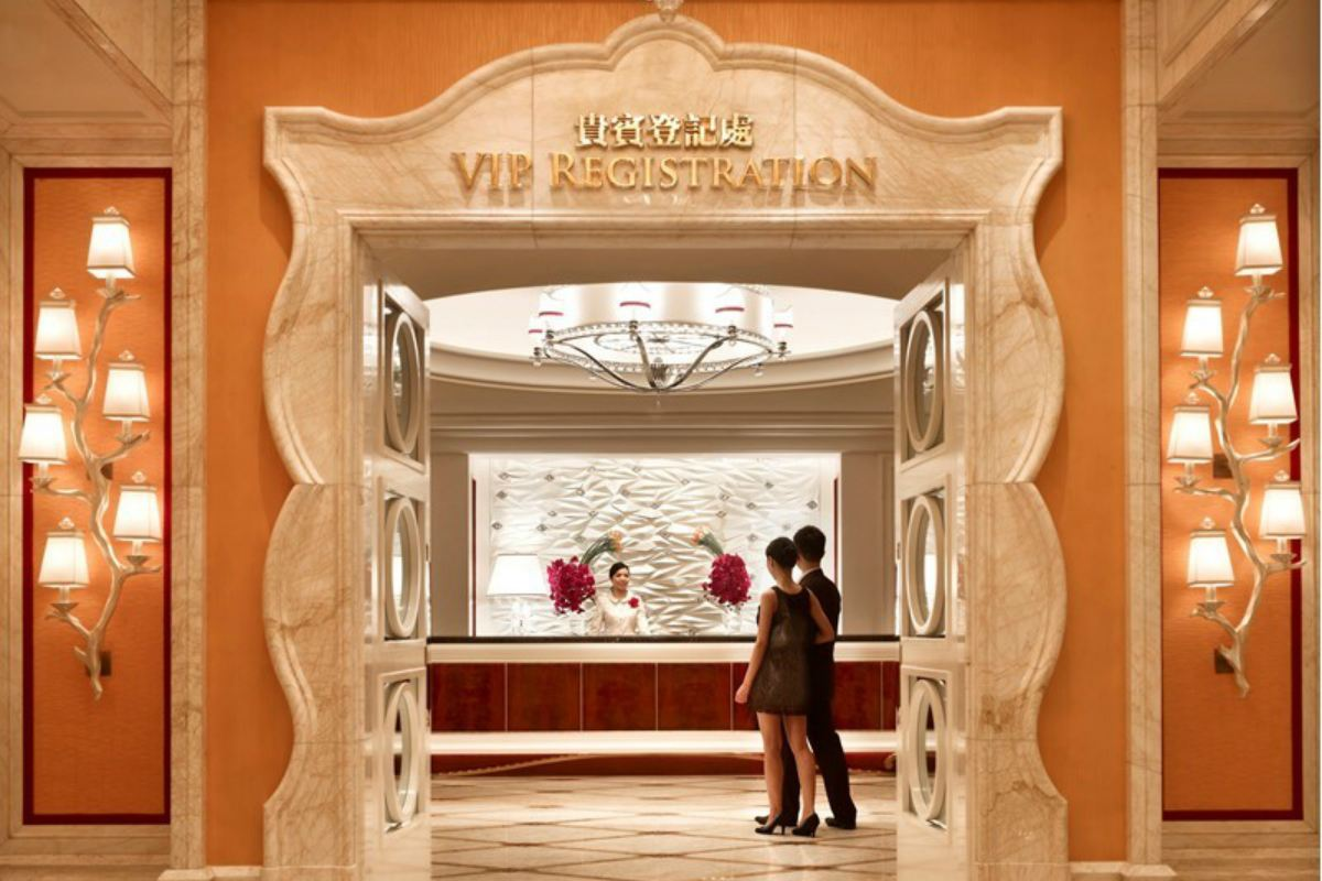 Macau VIP casino revenue GGR