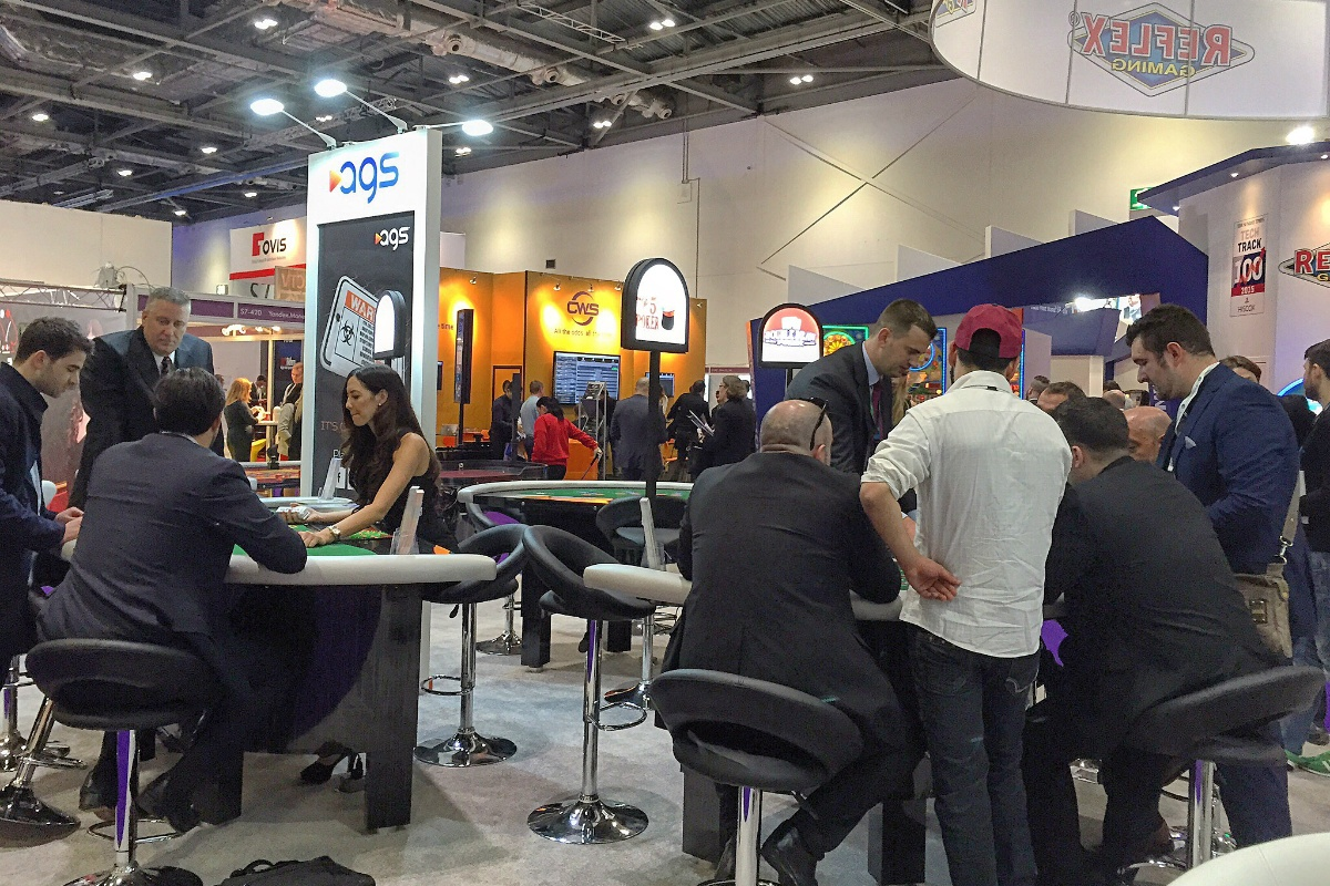 AGS In Bet gaming manufacturer